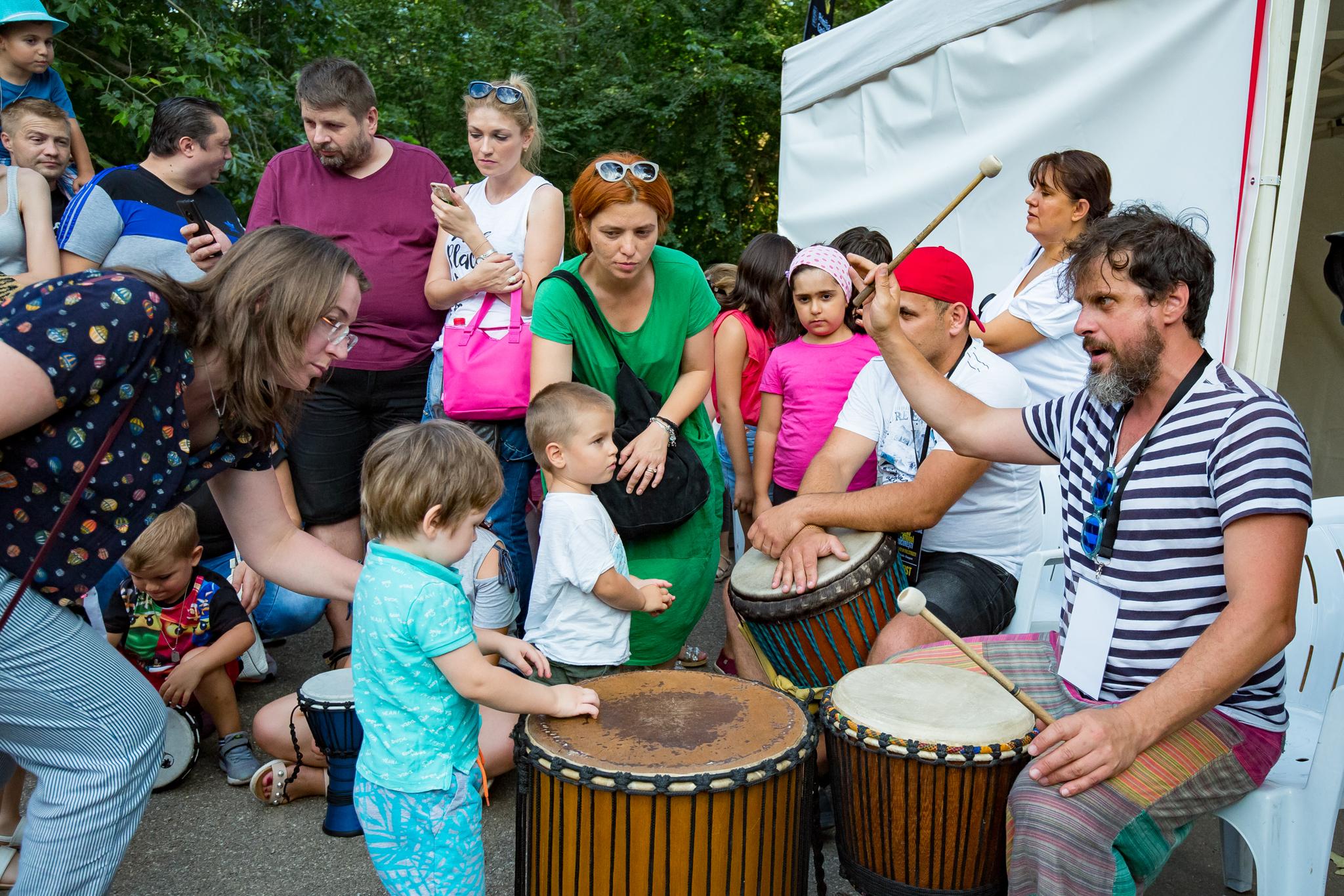 Drum Up Circle